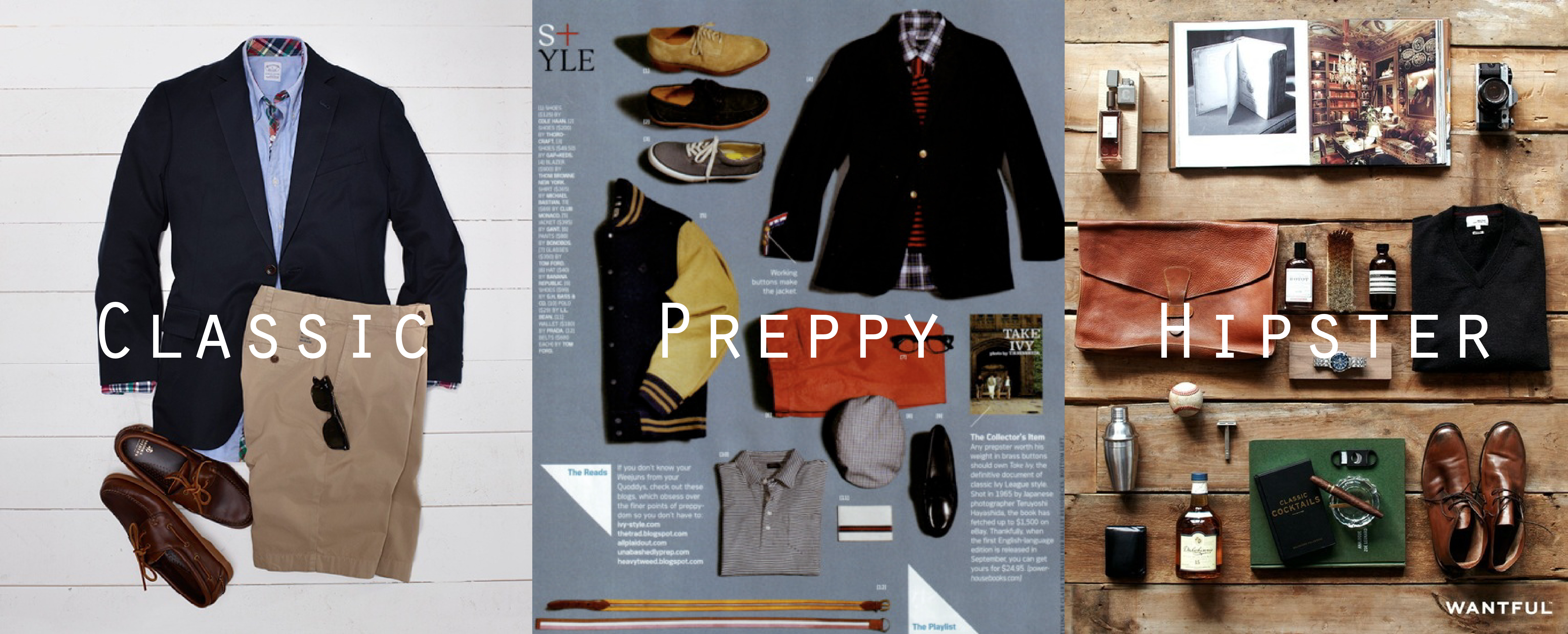 Fashionlessons for Men – part 2 – Identify your Style