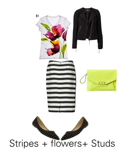 Stripes trends looks spring 2013