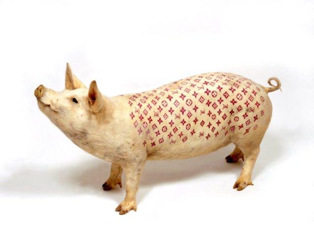 Los verdos tatuados de Wim delvoye