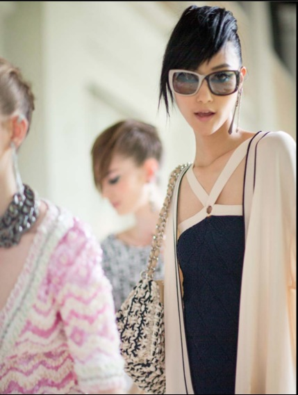 chanel cruise 2014 backstage sungapore
