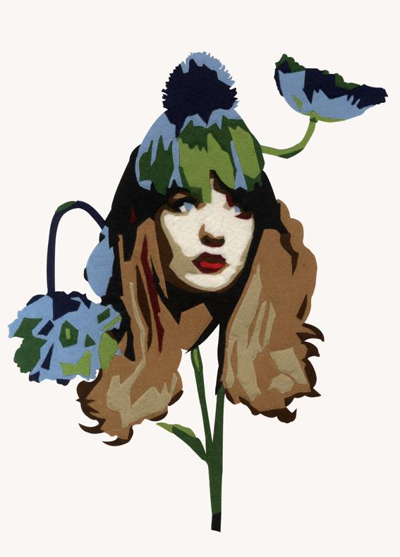 felt-flower-para-postal