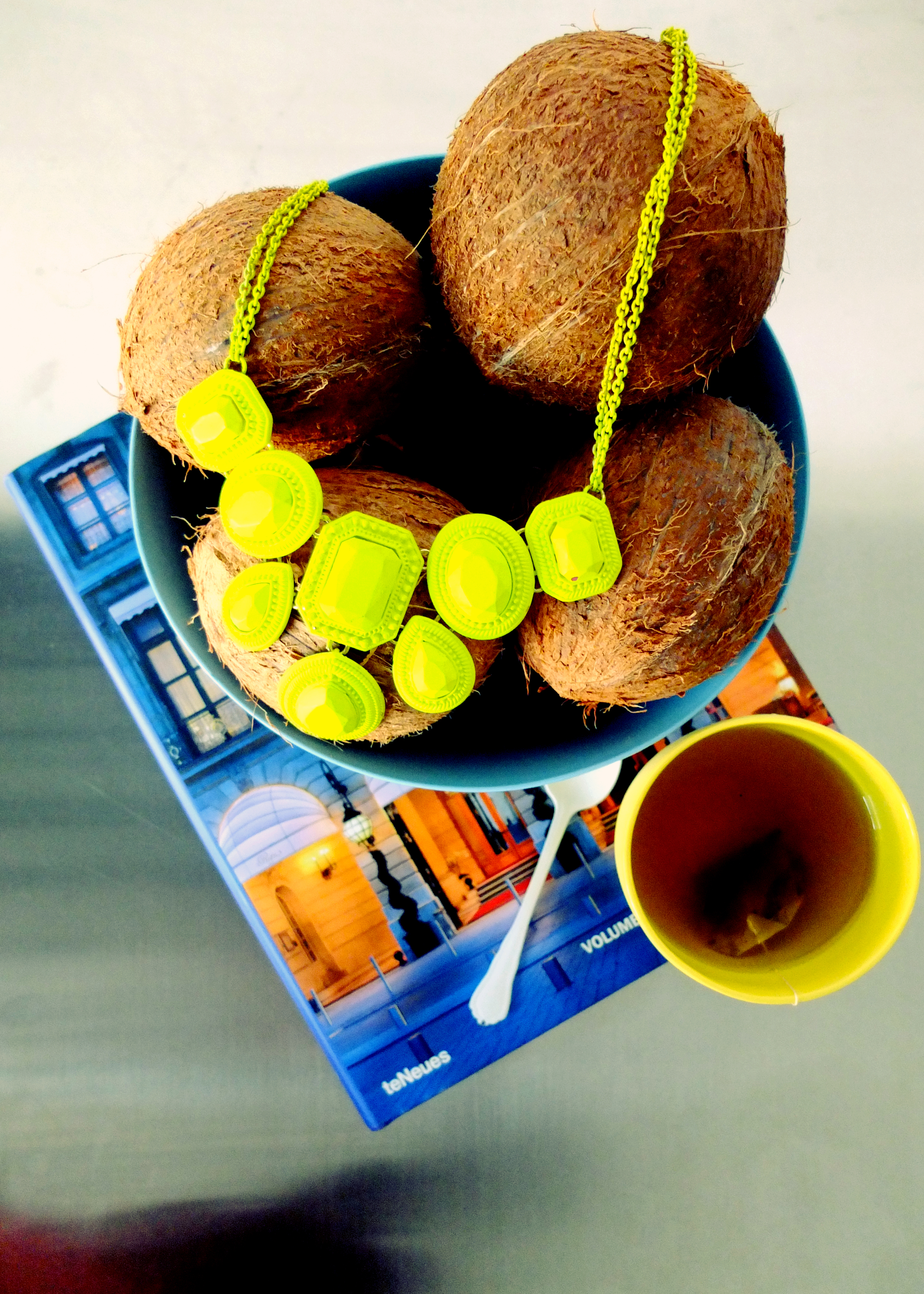 Coconuts and necklaces