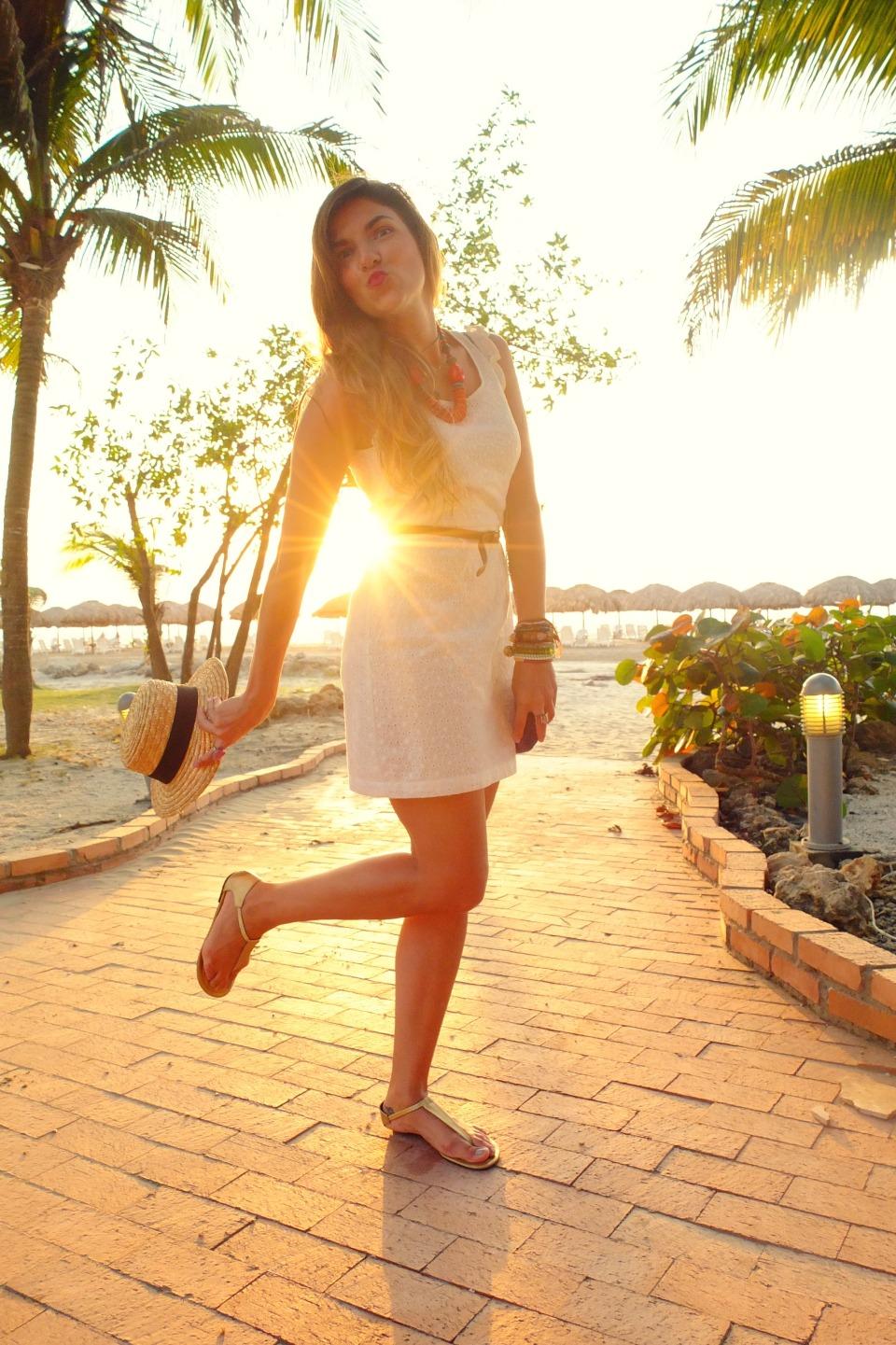beach sunset fashionlessons