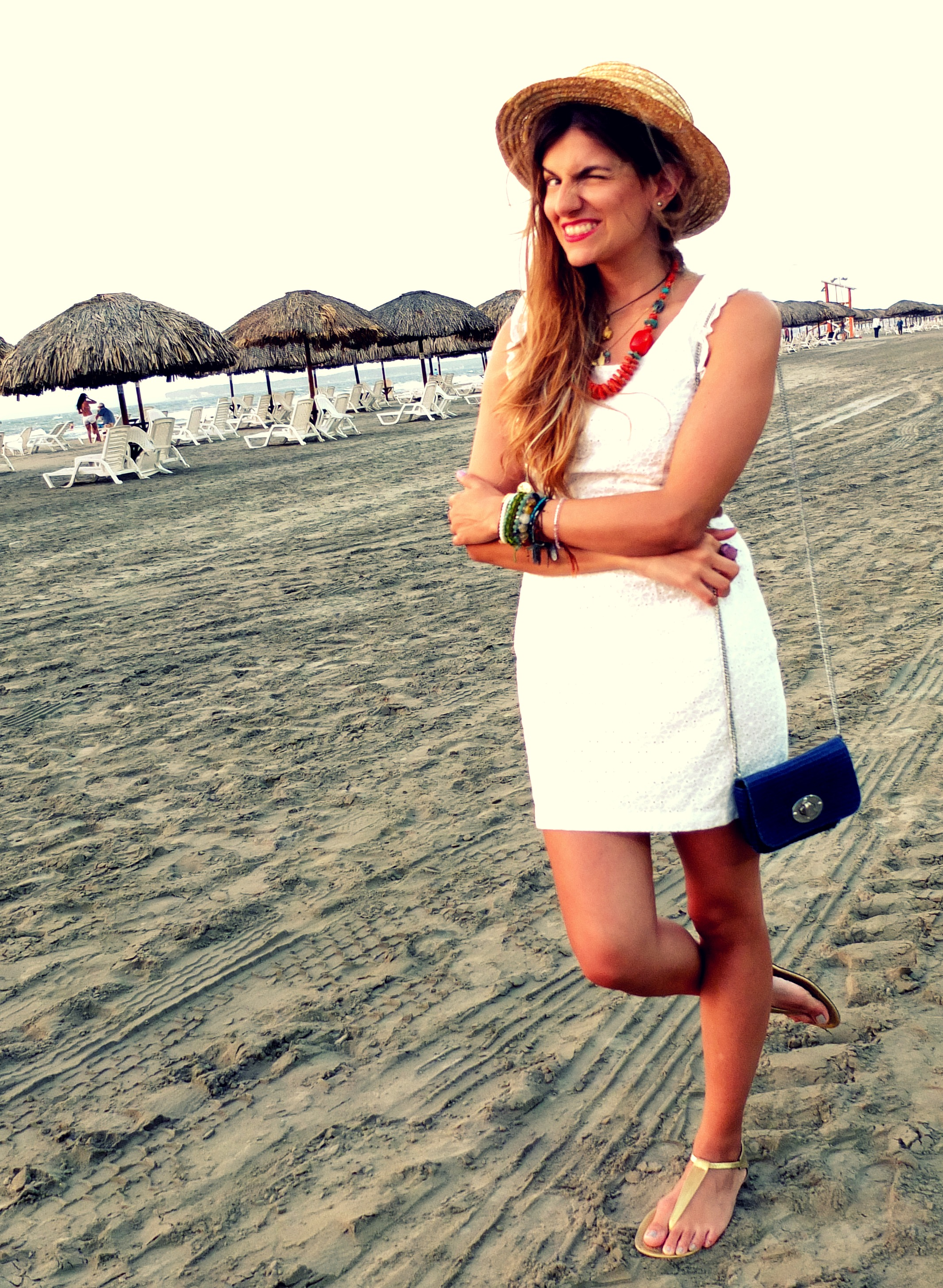 white dress beach fashionlessons